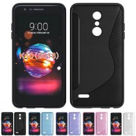 S Line silikonskall LG K9 2018 mobilskall