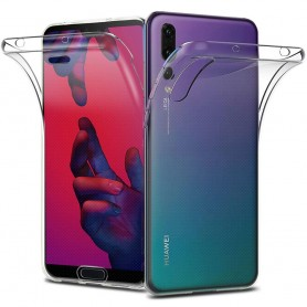 360 hel silikon deksel Huawei P20 mobil deksel