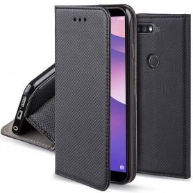 Moozy Smart Magnet FlipCase Huawei Y7 2018 mobilskall