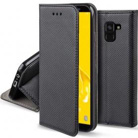 Moozy Smart Magnet FlipCase Samsung Galaxy J6 2018 mobilskall