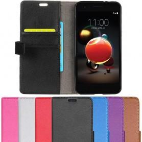 Mobil lommebok 2-kort LG K9 2018 veske mobildeksel