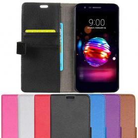 Mobil lommebok 2-kort LG K11 2018 mobil deksel beskyttelse caseonline