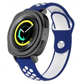 EBN Sport Armbånd Samsung Gear Sport - blå / hvit