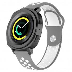 EBN Sport Armbånd Samsung Gear Sport - grå / hvit