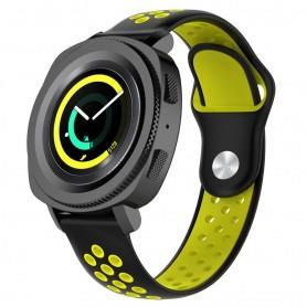 EBN Sport Armbånd Samsung Gear Sport - svart / gul