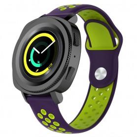 EBN Sport Armbånd Samsung Gear Sport - lilla / grønn