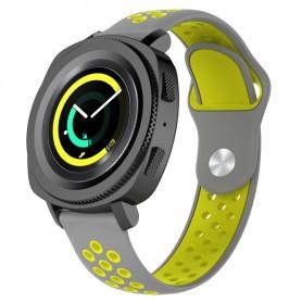 EBN Sport Armbånd Samsung Gear Sport - grå / gul