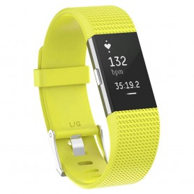 Sport armbånd for Fitbit Charge 2 - Gul