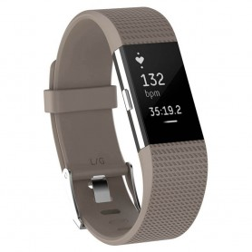 Sport armbånd for Fitbit Charge 2 - Beige