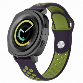 EBN Sport Armbånd Samsung Gear Sport - svart / grønn