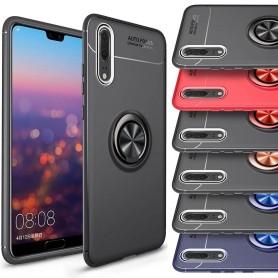 Slim Ring Veske For Huawei P20 Mobiltelefon Selfie Bilholder
