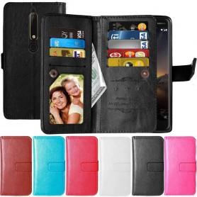 Dobbelt Flexi 9-kort Nokia 6.1 2018