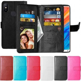 Dobbeltklikk Flexi 9-kort Xiaomi Mi Mix 2's mobiltelefonveske