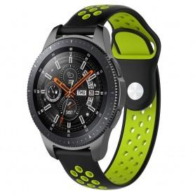 EBN Sport Armbånd Samsung Galaxy Watch 46mm-Svart / Grønn