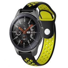 EBN Sport Armbånd Samsung Galaxy Watch 46mm-Black / Yellow