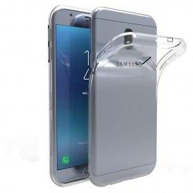Samsung Galaxy J3 2018 silikonetui gjennomsiktig mobilskall