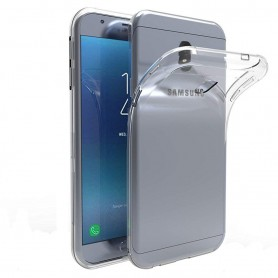 Samsung Galaxy J7 2018 silikonetui gjennomsiktig mobilskall