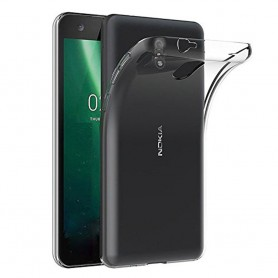 Nokia 2.1 Silikonetui Transparent mobilskal 2018