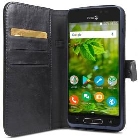 Doro 8035 Wallet Case - Svart mobil lommebokdeksel