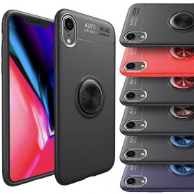 "Slim Ring Veske Apple iPhone XR (6,1 "") mobil shell caseonline"