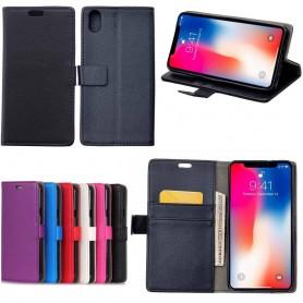Mobil lommebok 2-kort Apple iPhone XS Max Mobiltelefon veske Caseonline
