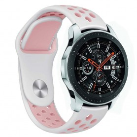 EBN Sport Armbånd Samsung Galaxy Watch 46mm-White / Pink