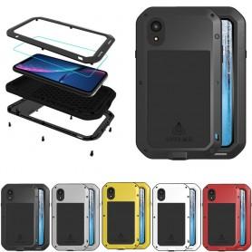 LOVE MER Powerful Apple iPhone XR mobil beskyttelsesbeskyttelse i aluminium i aluminium