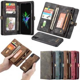 Multi Wallet 11-kort Apple iPhone XR Veske Mobil lommebok Caseonline