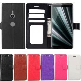 Mobil lommebok 3-kort Sony Xperia XZ3 Veske Mobiltelefon veske