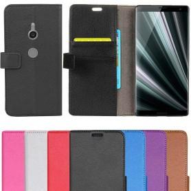 Mobil lommebok 2-kort Sony Xperia XZ3 Mobil deksel veske
