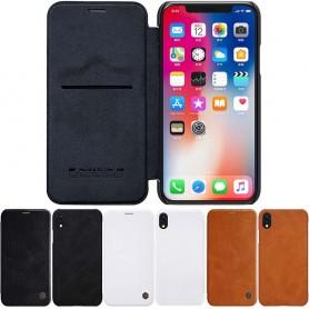 Nillkin Qin FlipCover Apple iPhone XR Flip Case Mobiltelefon veske