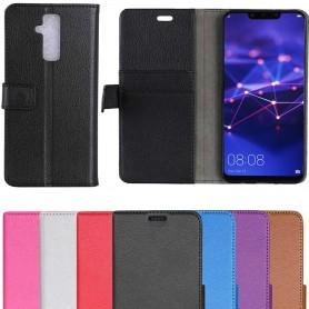 Mobil lommebok 2-kort Huawei Mate 20 Lite etui beskyttelse av mobiltelefoner