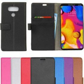 Mobil lommebok 2-kort LG V40 ThinQ etui beskyttelsesetui caseonline