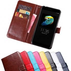 Mobil lommebok 3-kort Lenovo S5 mobil beskyttelsesetui