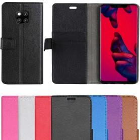Mobil lommebok 2-kort Huawei Mate 20 Pro mobiltelefon beskyttelsesetui Caseonline