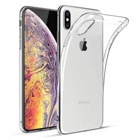 Apple iPhone XS Max Silikon Gjennomsiktig Mobil Beskytt etui