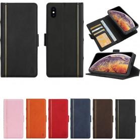 Retro bok lommebok 2i1 Apple iPhone XS Max Magnetisk Veske Mobiltelefon Veske