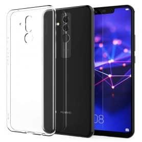 Huawei Mate 20 Lite silikonetui Gjennomsiktig mobilskall