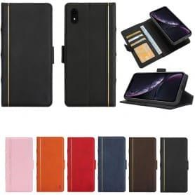 Retro Book lommebok 2i1 Apple iPhone XR Mobil lommebok Mobil deksel