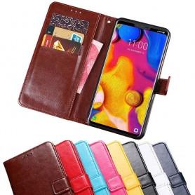 Mobil lommebok 3-kort LG V40 ThinQ etui beskyttelse caseonline