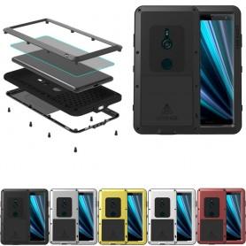 LOVE MER MER Powerful Sony Xperia XZ3 stål skall livssikkert metall mobil etui caseonline