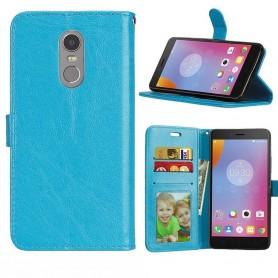 Lenovo K6 Note 3-mobil lommebok - blå