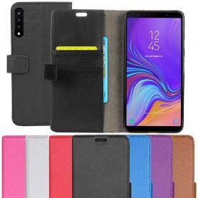 Mobil lommebok 2-kort Samsung Galaxy A7 2018 mobildeksel caseonline