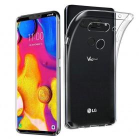 LG V40 ThinQ Silikonetui Gjennomsiktig Mobile Shell Caseonline