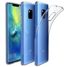 Huawei Mate 20 PRO Silikonetui Gjennomsiktig mobiltelefon deksel Caseonline