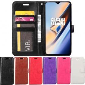 Mobil lommebok 3-kort OnePlus 6T mobilveske caseonline