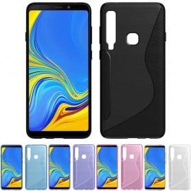 S Line silikonskall Samsung Galaxy A9 2018 mobilskall