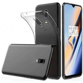 OnePlus 6T Silikonetui Gjennomsiktig mobilveske beskytter Caseonline