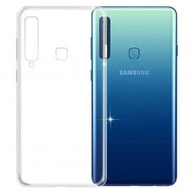 Samsung Galaxy A9 2018 silikonetui gjennomsiktig mobilskall
