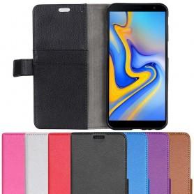 Mobil lommebok 2-kort Samsung Galaxy J6 Plus 2018 (SM-J610F) Mobiltelefon Veske Beskyttelse Caseonline